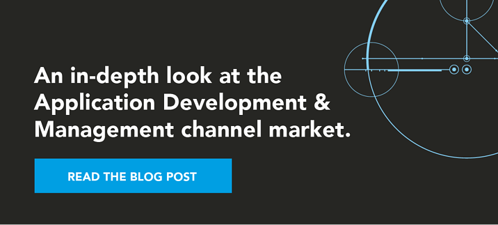 An in-depth look at the Application Development & Management channel market